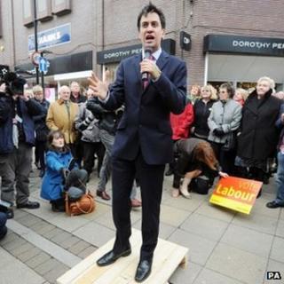 Ed Miliband in Chorley