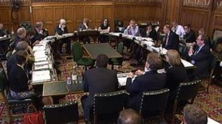Serco board members before the House of Commons' Public Accounts Committee