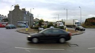 Haudagain roundabout