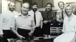Borders radio team