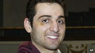 Tamerlan Tsarnaev pictured in 2010