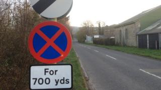 New clearway sign on A382