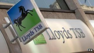 Lloyds branch facia