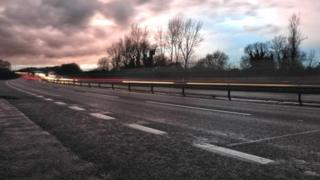 The A12 in Essex