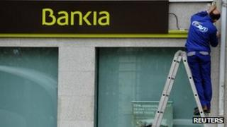 Bankia branch in Spain