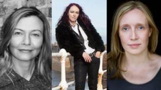 Anna Raverat, Rosie Garland, Sarah Lee