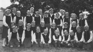 Côr Obernkirchen yn 1953