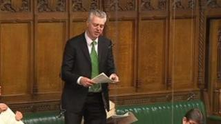 Simon Kirby MP in the House of Commons