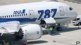 Boeing 787 grounded in Japan