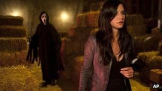 Scene from Scream 4