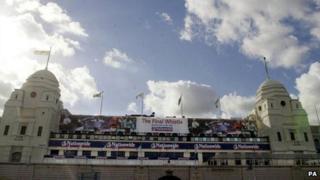 The previous Wembley Stadium