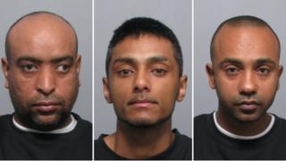 Hamza Ali, Suran Uddin, Mohammed Sheikh