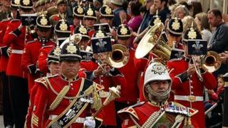 The parade through Cardigan
