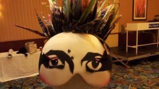 London 2012 costume head