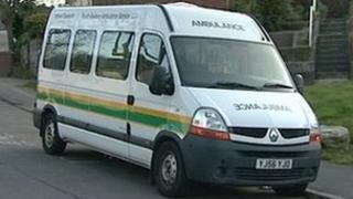 South Western Ambulance Trust patient transport ambulance