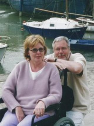 Marie Fleming and Tom Curran