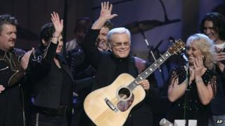 George Jones' 75th birthday concert at the Grand Ole Opry House in 2006