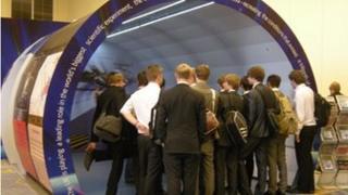 Hadron Collider replica