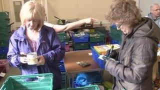 Stoke-on-Trent foodbank