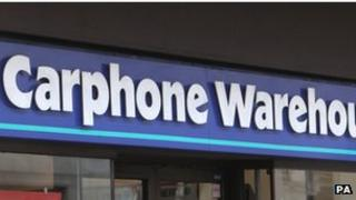 Carphone Warehouse Europe operates almost 2,400 stores across Europe