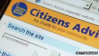 Citizens Advice Bureau website