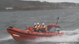 RNLI Penlee inshore lifeboat