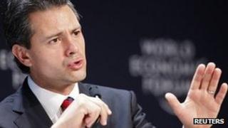 Mexico's President, Enrique Pena Nieto
