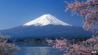 Mount Fuji (file image from April 2012)