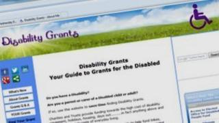 Disability Grants website