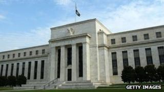 US Federal Reserve building in Washington, DC.