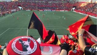 Xolo Stadium in Tijuana