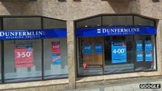 Dunfermline Building Society branch in Dunfermline