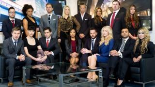 The Apprentice contestants in 2013