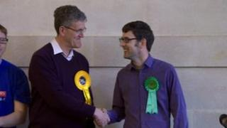 Dr Jon Rogers and Rob Telford