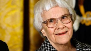 Pulitzer Prize winner and To Kill A Mockingbird Harper Lee in 2007