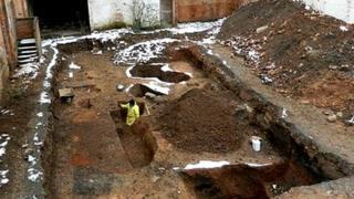 Roman cemetery Leicester