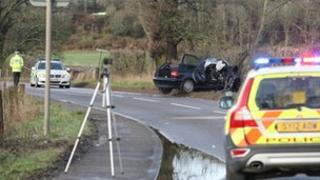 Beauly crash 4 May 13