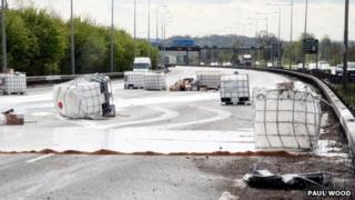 Chemicals on M25