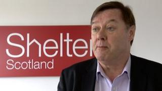 Shelter Scotland's Graeme Brown called for agents to be regulated