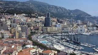 Monaco harbour - file pic