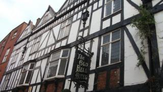The Old Bell Hotel in Derby