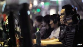 File photo: an internet cafe in Beijing, 12 May 2011