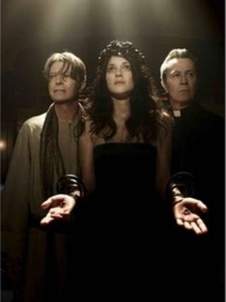 David Bowie, Marion Cotillard and Gary Oldman