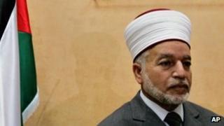 Sheikh Mohammad Hussein, the Grand Mufti of Jerusalem