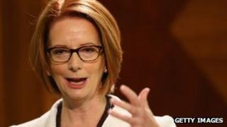 File photo: Julia Gillard