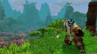 Screenshot from Mists of Pandaria