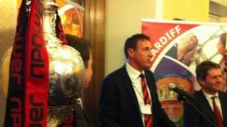 Malky Mackay at the House of Lords event