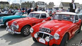 Austin Healey sports cars