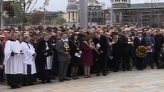 Bradford City fire memorial service