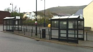 Talbot Green bus terminus